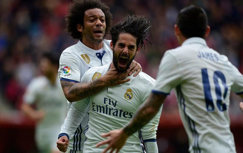 Real Madrid, La Liga, Ronaldo, Isco