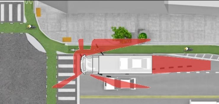 9 kĩ năng lái xe giữ mạng khi 'chạm mặt' với container