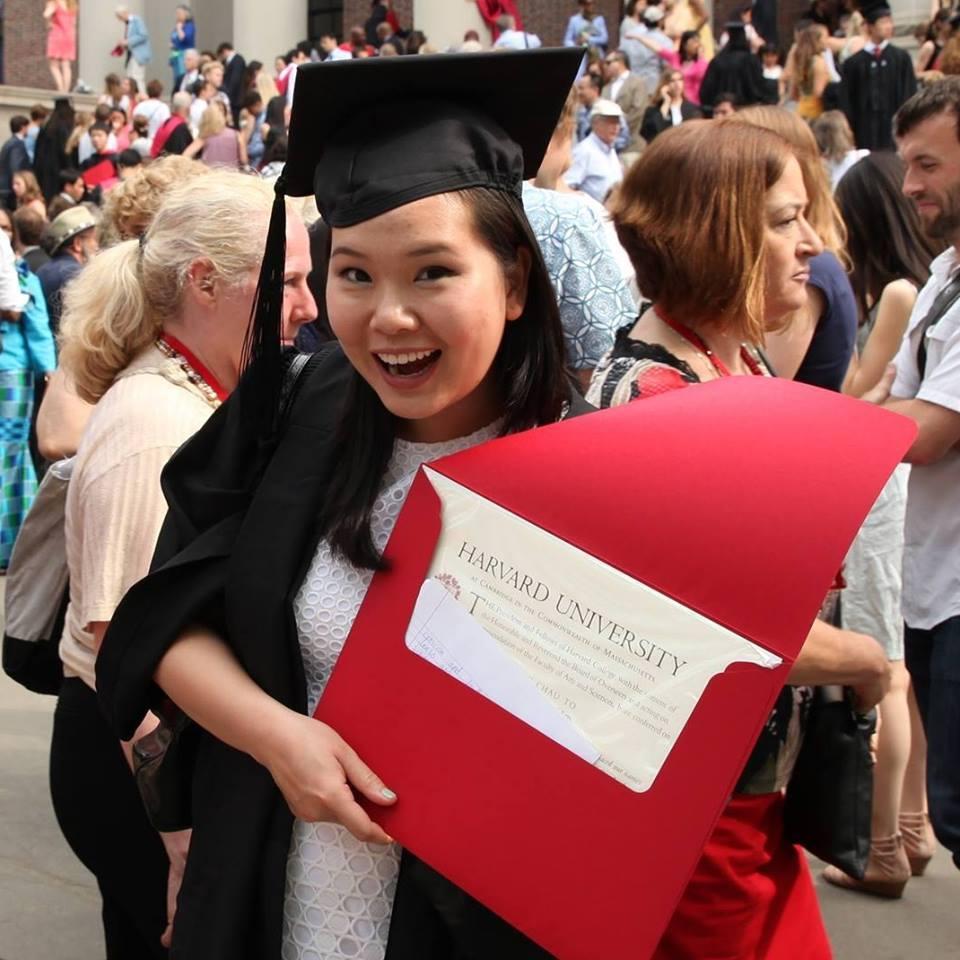 bài luận, ĐH Harvard, du học, du học Mỹ, nữ sinh