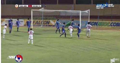 U19 HAGL 0-0 U19 Đài Loan phút 13