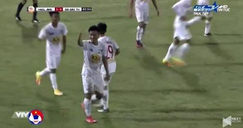 U19 HAGL 4-0 U19 Đài Loan phút 86 goal