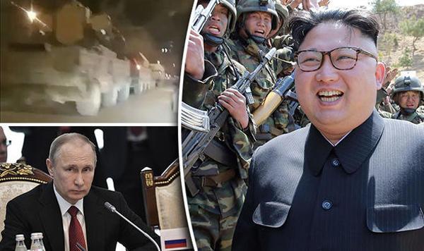 Báo Anh nói Nga điều tên lửa tới giáp Triều Tiên