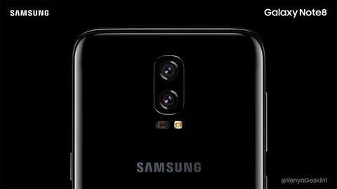 Hé lộ thiết kế Galaxy Note 8