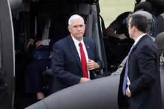 Phó Tổng thống Mỹ bất ngờ xuất hiện ở biên giới Triều Tiên