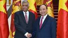 Lễ đón chính thức Thủ tướng Sri Lanka