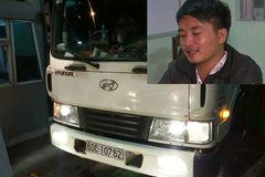 Lời khai của tài xế xe tải cán chết Thiếu tá CSGT