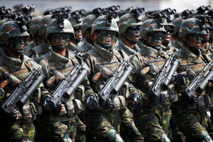 Triều Tiên, tình hình Triều Tiên, căng thẳng Triều Tiên, duyệt binh, Kim Jong Un