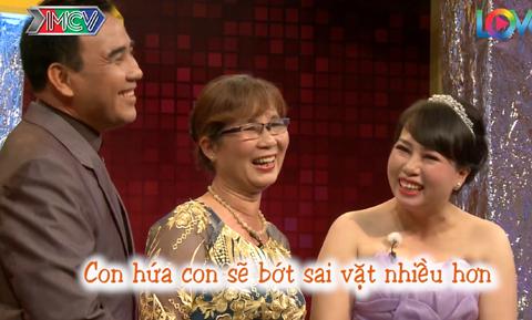 mẹ chồng nàng dâu,MC Quyền Linh,mâu thuẫn gia đình,MC Lê Lộc,Game show