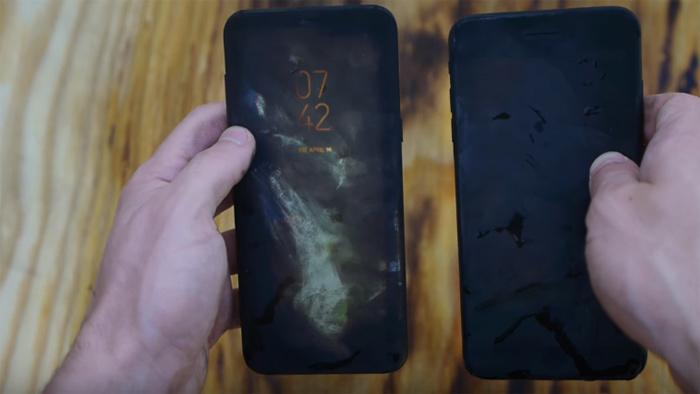 Galaxy S8 Plus, iPhone 7 Plus, smartphone, Apple, Samsung