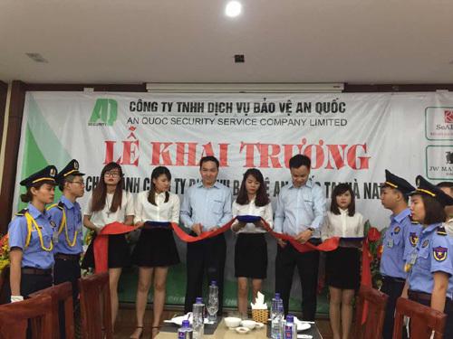 Khai trương chi nhánh Bảo vệ An Quốc ở Hà Nam
