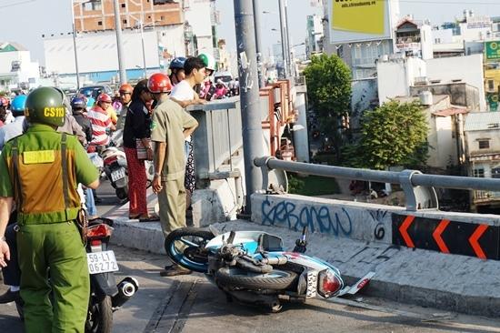 tai nạn giao thông, tông xe, tai nạn xe máy, tai nạn giao thông ở Sài Gòn