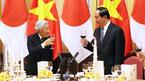 Nhà Vua và Hoàng hậu Nhật Bản mở tiệc trà mừng chuyến thăm Việt Nam