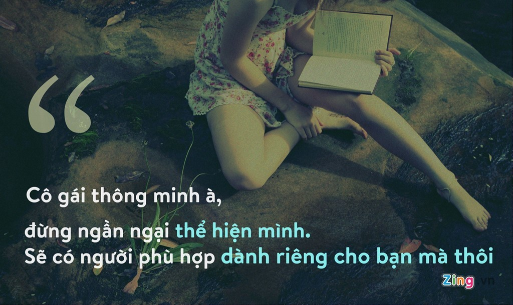 Hãy yêu một cô gái thông minh và hãnh diện vì điều đó!