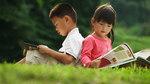Chúng cháu học quá nhiều thì đọc sách vào lúc nào?
