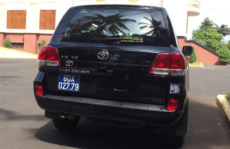 Đắk Lắk: Ngân hàng tặng Land Cruiser V8 đưa đón Bí thư Tỉnh ủy