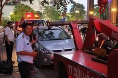 Khi nào cảnh sát giao thông được niêm phong, cẩu ô tô vi phạm luật?