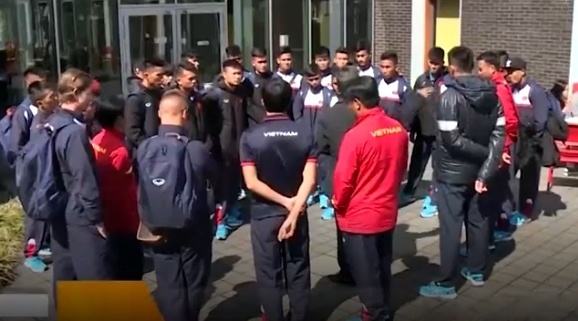 U20 Việt Nam tại Đức, sẵn sàng 'luyện công' chờ World Cup