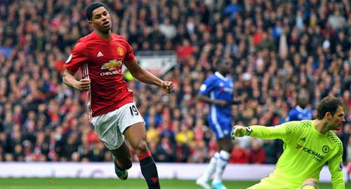 Rashford xé lưới Chelsea lọt top 5 bàn thắng vòng 33 Ngoại hạng Anh