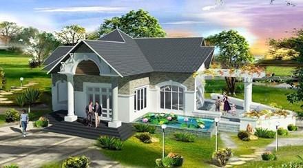 nhà cấp 4, mẫu nhà cấp 4 đẹp, xây nhà