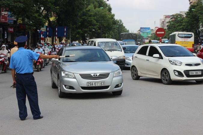 Đi vào đường cấm, ô tô bị phạt tiền triệu
