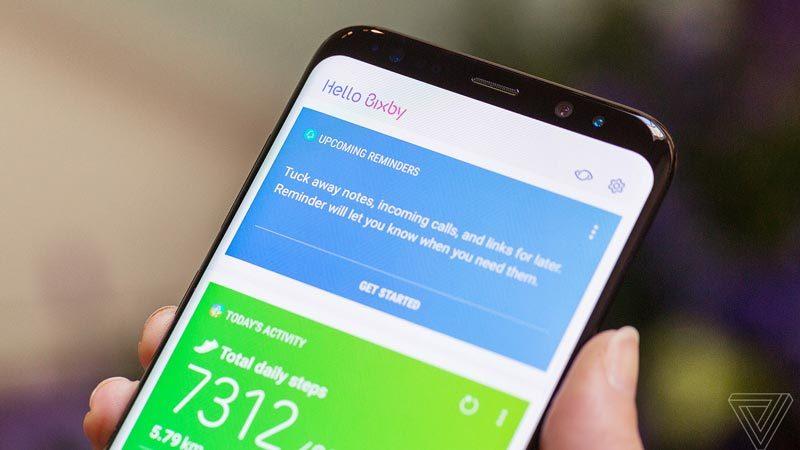 Samsung. Bixby, Galaxy S8, trợ lý ảo