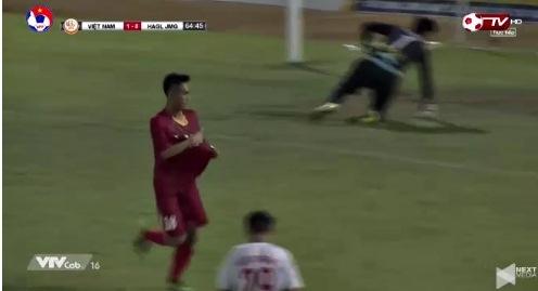 U19 Việt Nam 2-0 U19 HAGL phút 65 Văn Công goal