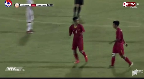 U19 Việt Nam 3-1 U19 HAGL Xuân Kiên goal phút 79