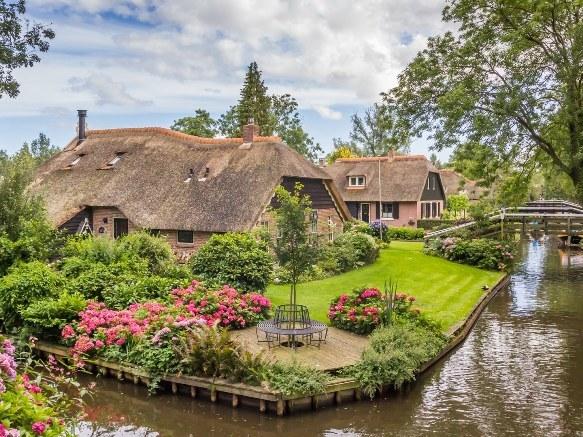 thị trấn, Hà Lan, châu Âu, nông thôn