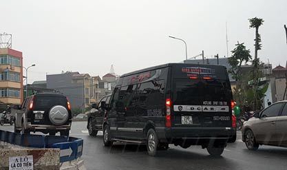 điều chuyển xe khách, bến xe Mỹ Đình, xe dù, bến xe Giáp Bát, bến Nước Ngầm
