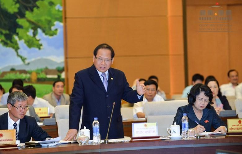 an toàn thông tin, Bộ trưởng Trương Minh Tuấn, Trương Minh Tuấn
