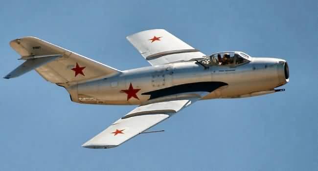 Triều Tiên, chiến sự Triều Tiên, chiến tranh Triêu Tiên, Máy bay Mig