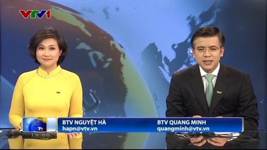 Quang Minh, BTV Quang Minh, VTV