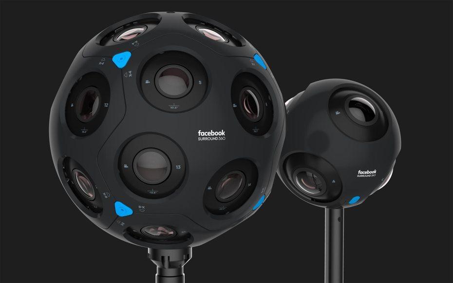 Facebook phát triển camera 360 siêu 'khủng'