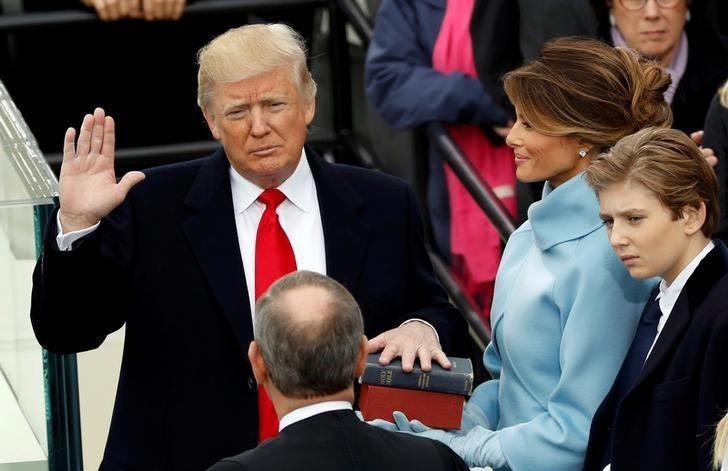 Donald Trump, tổng thống Mỹ, lễ nhậm chức, Barack Obama,Boeing