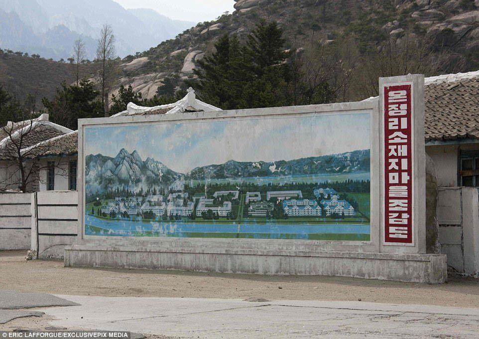 thị trấn ma, Triều Tiên, núi Kumgang, DMZ