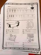 Bài tập về nhà của trẻ mẫu giáo khiến phụ huynh bó tay