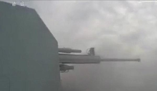 Xem Trung Quốc tập bắn đạn thật sát Triều Tiên