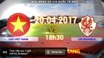 Link xem trực tiếp U19 Việt Nam vs U19 Gwangju 18h30 ngày 20/4
