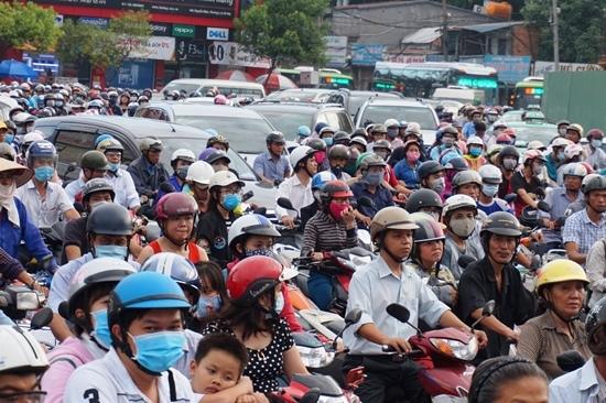 cấm xe máy, cấm xe máy ở Sài Gòn, kẹt xe ở Sài Gòn, kẹt xe, tắc đường, giao thông