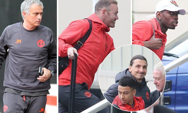 MU, Anderlecht, Mourinho, Europa League, Rooney