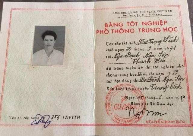 bằng giả, phó chủ tịch xã, Thanh Hoá, bằng cấp