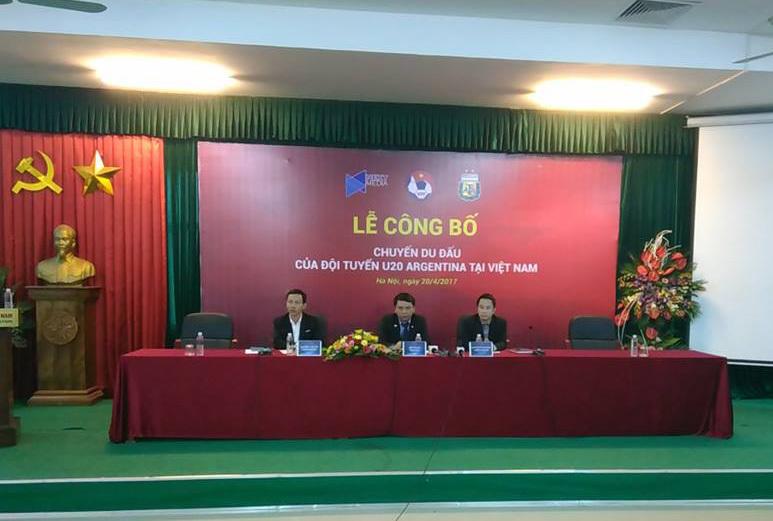 U20 Việt Nam, U23 Việt Nam, U20 Argentina, U20 World Cup 2017