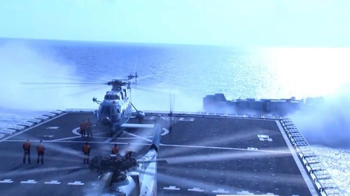 VN phản ứng việc TQ tập trận chiếm đảo ở Biển Đông