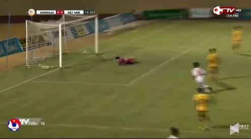 U19 Việt Nam 0-0 U19 Gwangju phút 17