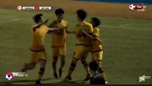 U19 Việt Nam 0-1 U19 Gwangju phút 44'
