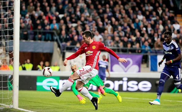 MU, Anderlecht, Europa League