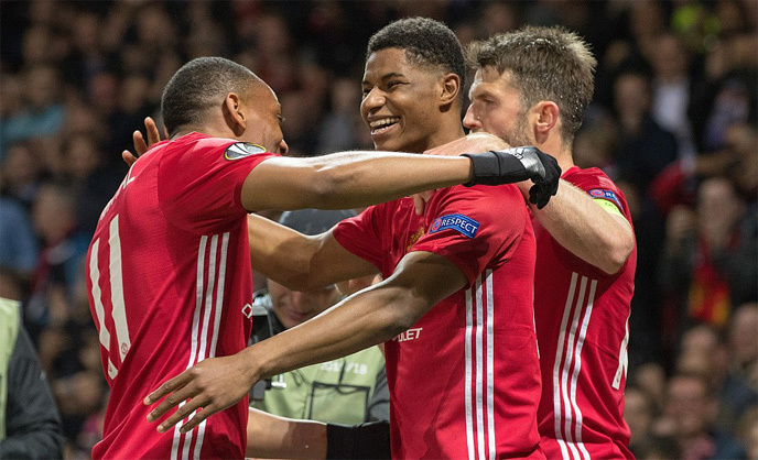 MU, Anderlecht, Rashford, Europa League