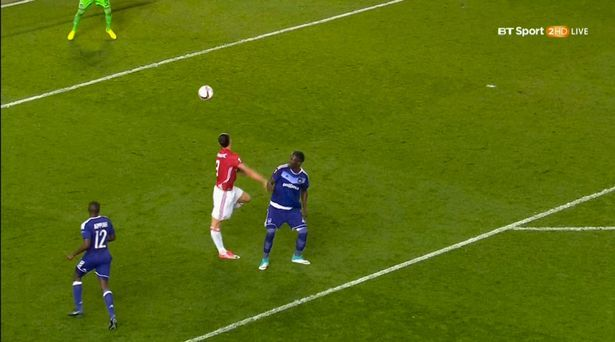 MU, Ibrahimovic, Rojo, Mourinho, Europa League, Anderlecht