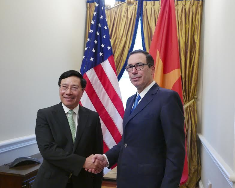 Tổng thống Trump, Donald Trump, Phạm Bình Minh,  Hoa Kỳ, Mỹ, APEC 2017