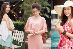 Mặc đẹp đón mùa Hè như Hoa hậu Mỹ Linh